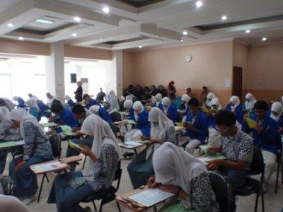 Suasana seleksi PBSB Kemenag RI di Jakarta